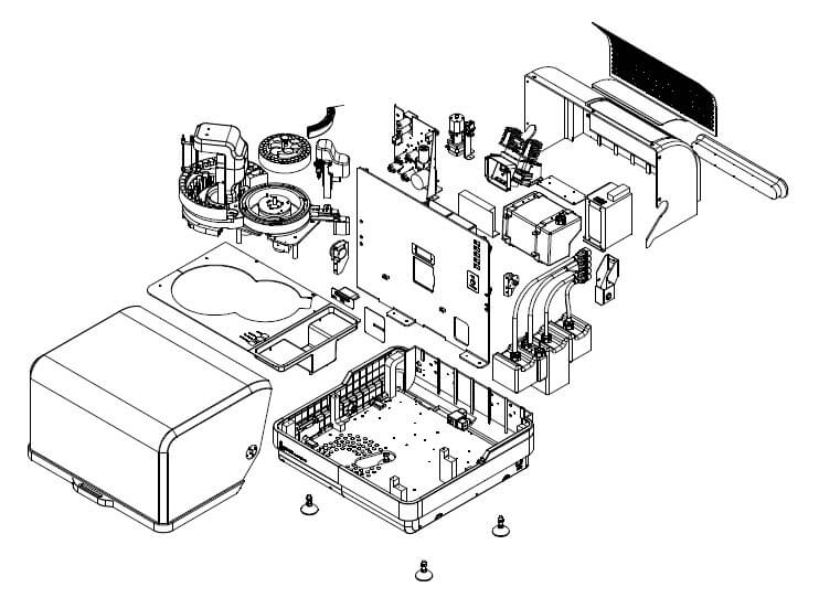 Product assembly drawing