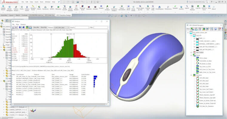 solidworks user interface catia vs. solidworks